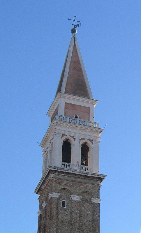 Колокольня церкви Сан-Франческо-делла-Винья