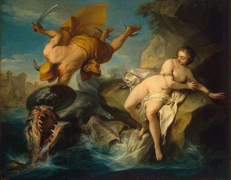 Vanloo Charles (Carle) - Perseus and Andromeda - GJ-1230