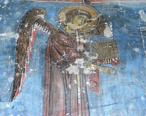 Фрески церкви Св. Животворящего Креста.