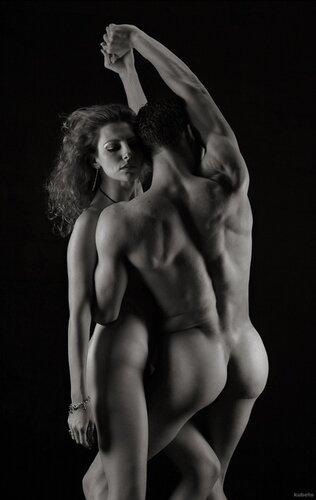 мужчина и женщина танцуют порно