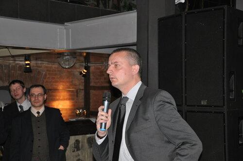 Выступает новый руководитель Московского Бюро Фонда Фридриха Науманна г-н Тамм.