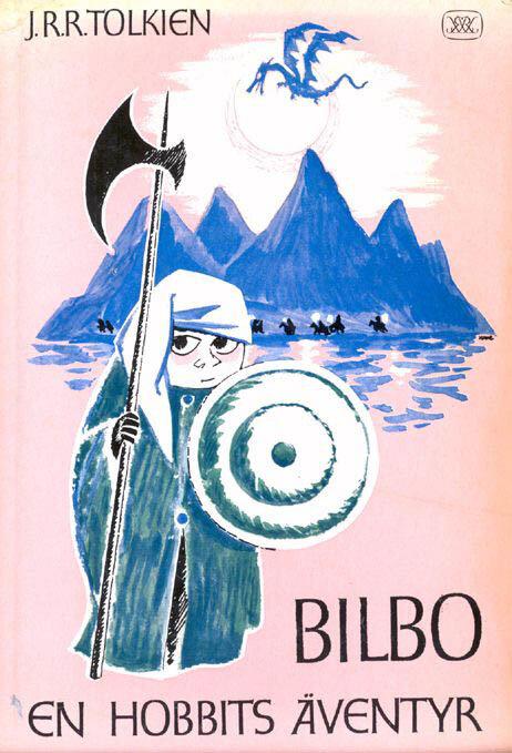 Иллюстрация Туве Янссон к Хоббиту Толкиена (Обложка)