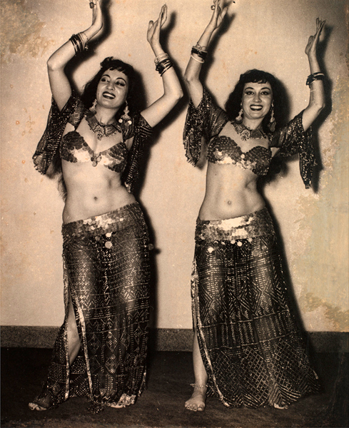Lyn and Lys, Egyptian Belly Dancers, Great Eastern Hotel.jpg
