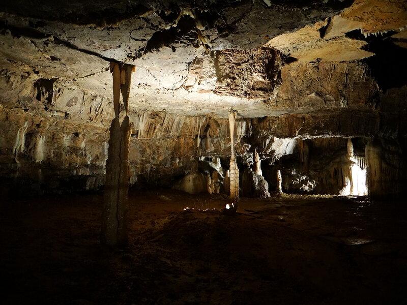 В подземных залах