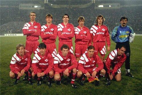 ФК Спартак Москва 1992 год