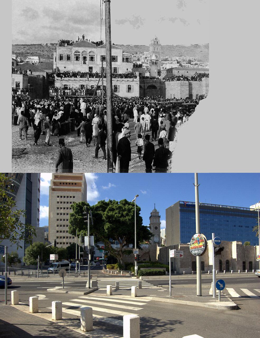 Хайфа. 14 сентября 1933  года. Процессия с телом короля Ирака Фейсала I