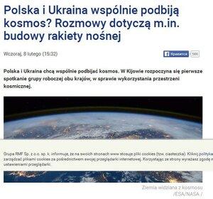 """FireShot Screen Capture #241 - """"Polska i Ukraina wspólnie podbiją kosmos_ Rozmowy dotyczą m_in_ budowy rakiety nośnej - Rmf24_pl"""" - www_rmf24_pl_fakty.jpg"""