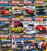 Журнал Muscle Mustangs & Fast Fords - Full Year Collection (2014)