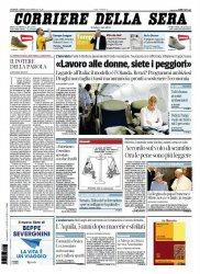 Журнал Il Corriere della Sera (04.04.2014)