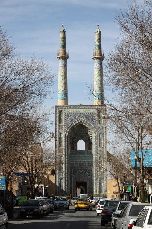 Портал пятничной мечети