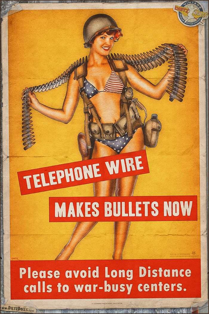 Армейский pin-up в стиле 1940-х годов от американского художника Britt Dietz (10)