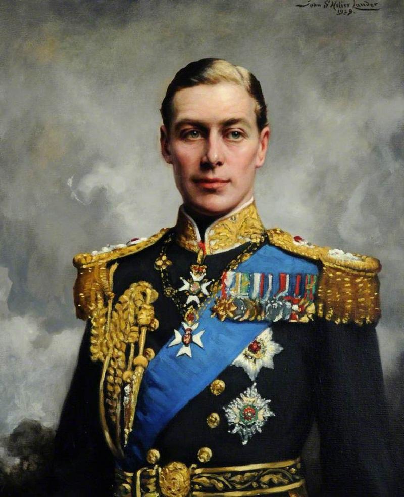 George VI (1895–1952)by John Saint-Helier Lander