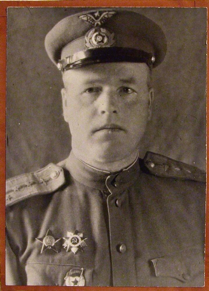 А.Ф.Топорков, начальник КВЧ лагпункта Судострой Ухтпечлага