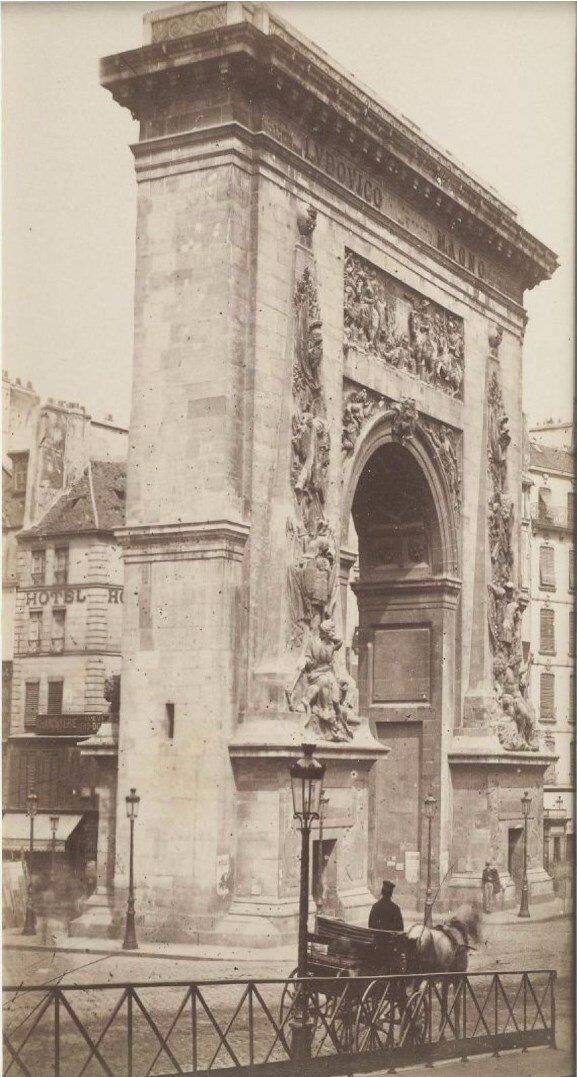 1870. Ворота Сен-Мартен