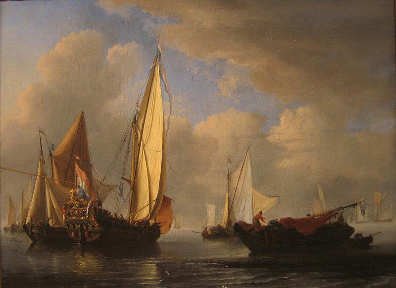 Корабли Виллема ван дер Вельде Младшего