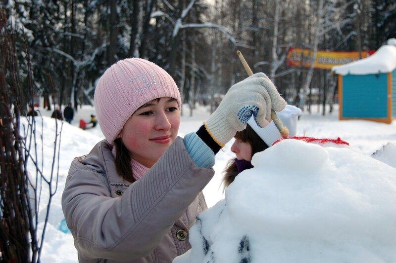 Фестиваль снежных фигур «Белый фестиваль»