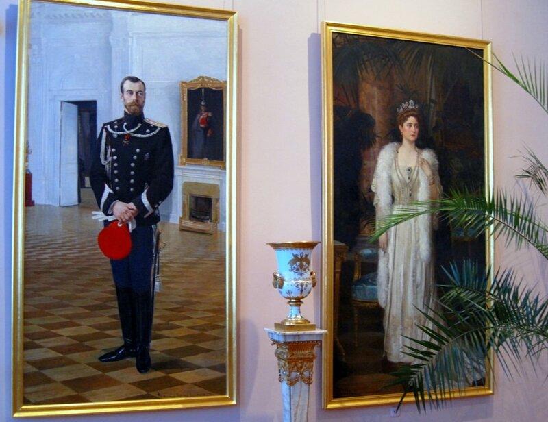 Портреты царской семьи