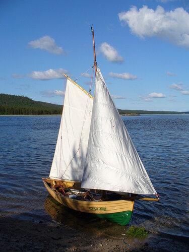 паруса лодок простые