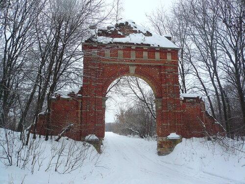 Ценральные ворота усадьбы