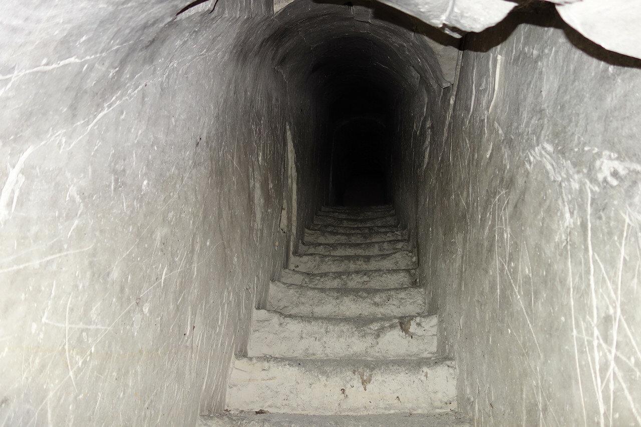в пещере Колыбелка