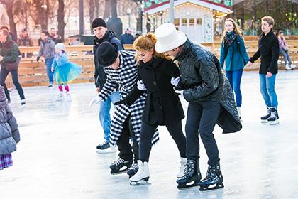 14 ноября в парке Горького открывается каток