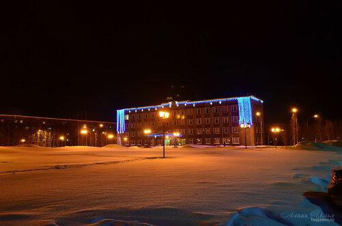 Фото города Инта №7442  Дзержинского 29 и Горького 16 18.01.2015_16:35