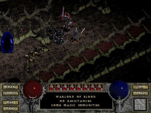 Diablo 1 screenshot: Warlord of Blood