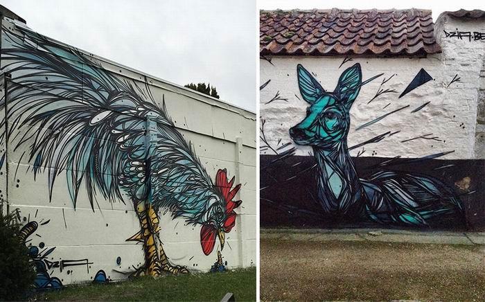[суб]культура: Граффити окраин Антверпена. ©Dzia