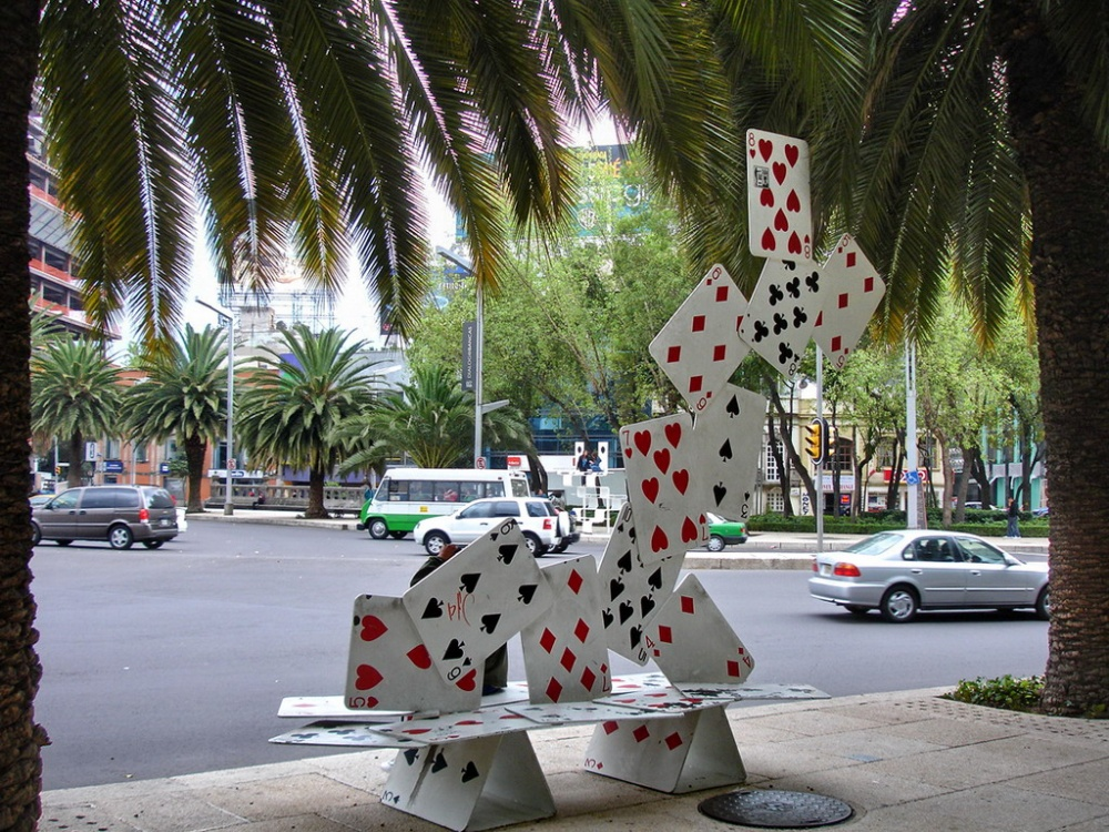 tuxboard Вязаная скамейка (Сан-Франциско, США)
