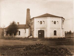 Вид здания, где размещалась электрическая станция. Псков г.