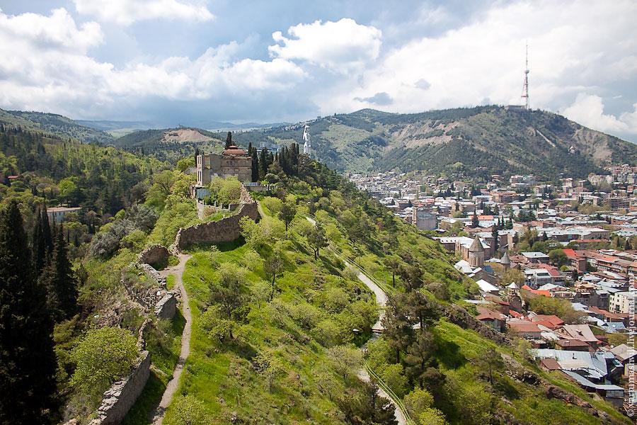 Грузия, Старый Тбилиси и крепость Нарикала