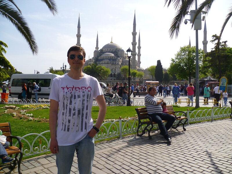 Стамбул, Голубая мечеть (Istanbul Blue Mosque)