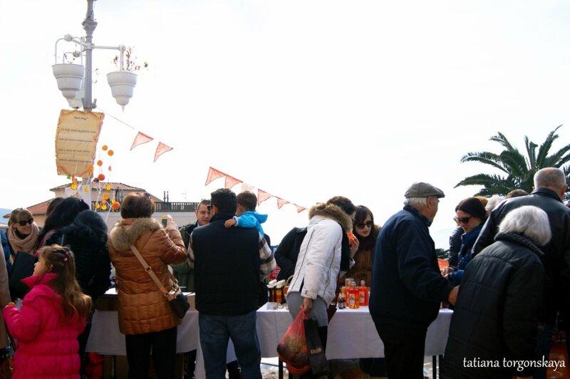 Малый фестиваль апельсинов