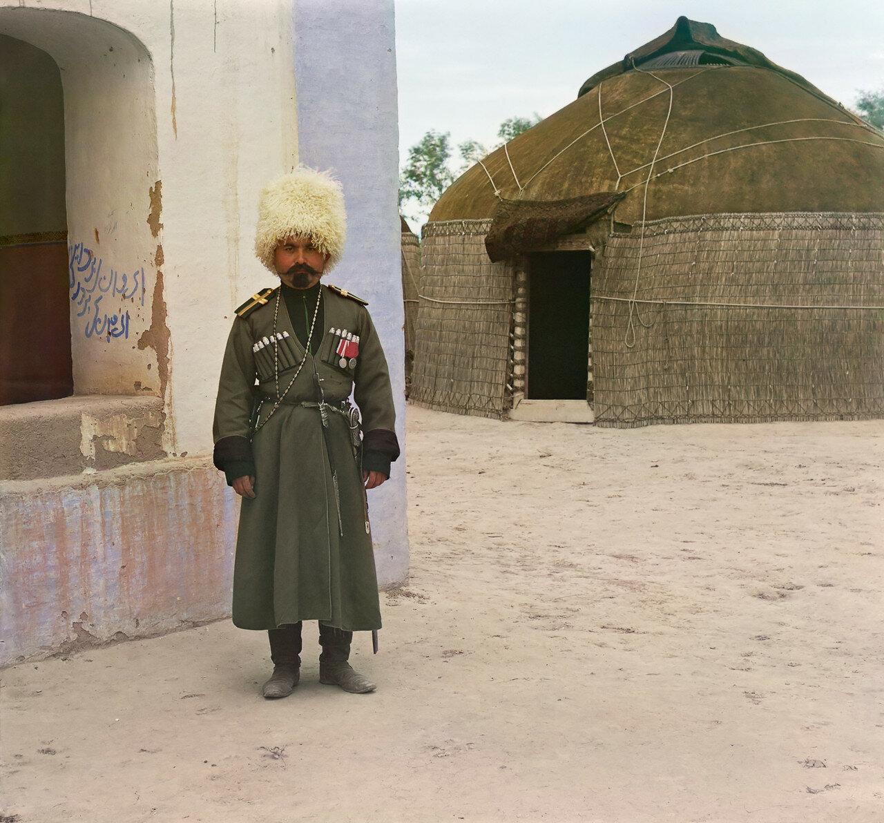 Окрестности Мерва. Близ Байрам-Али. Джигит Ибрагим