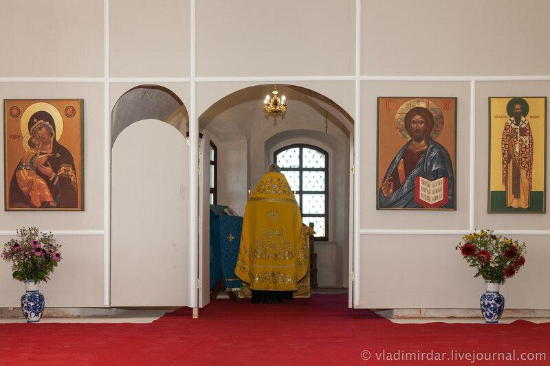 Храм святителя Василия Великого в Кистыше – родине Суворова