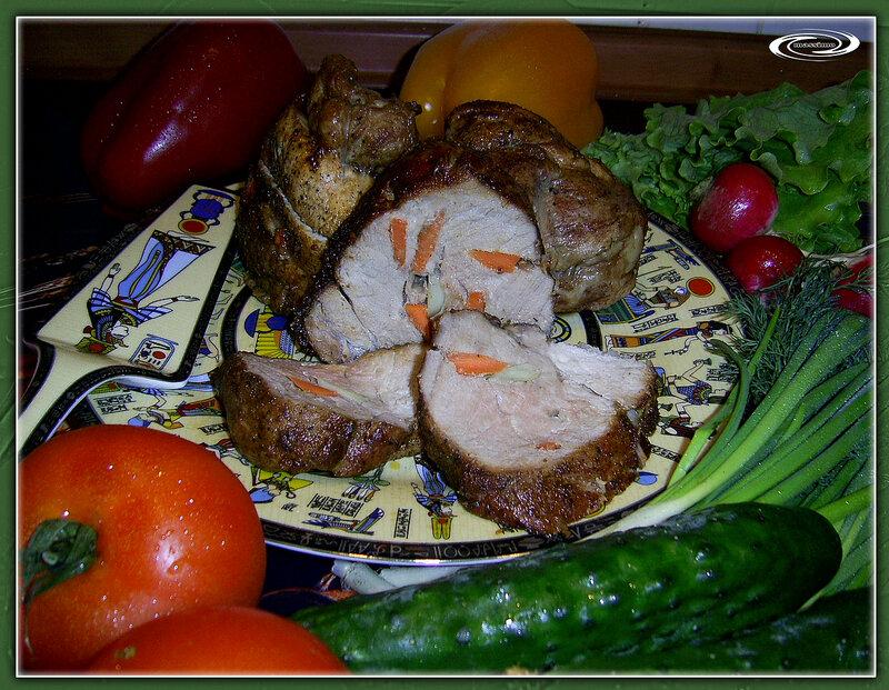 Мясо, запеченное на гриле