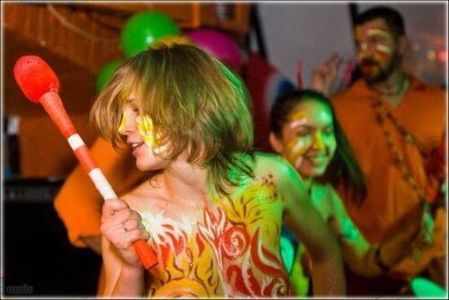 карнавал + бодиарт вечеринка- Маракату в клубе АртеФак