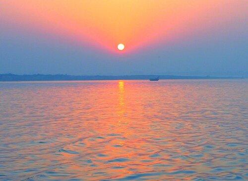 Закат над Гангой