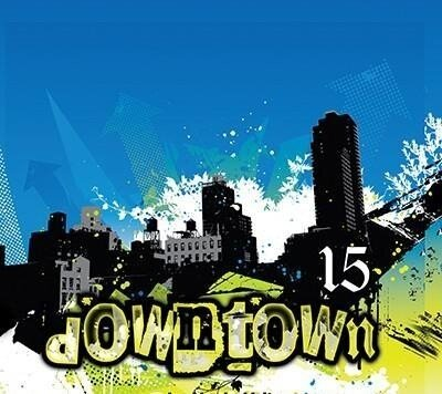 Downtown 15 Mixed by DJ Inphinity (2009)