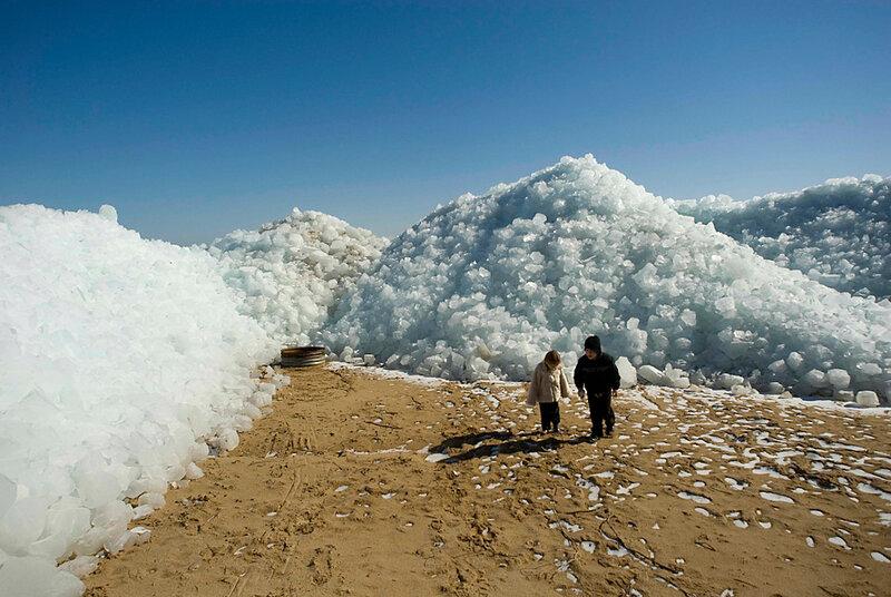ледяные дюны