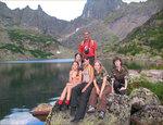 Я и моя группа на озере Горных Духов