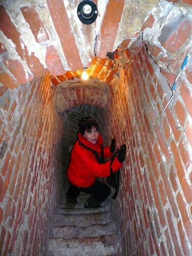 Винтовая лестница на колокольню церкви Знамения