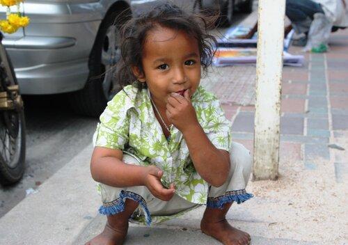 Тайская девочка.