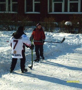 Спорт начинается во дворах
