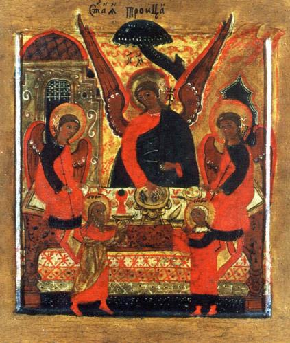 """""""Св. Троица"""". Кон. 17 - нач. 18 вв."""