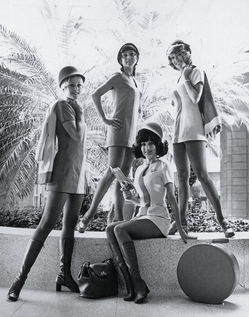 These PSA stewardesses are wearing the trendsetting uniforms of 1974.jpg