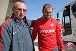 Тренировка Спартака на заключительном сборе в Турции