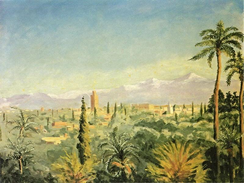 + 1949 Атласские горы, вид от Марракеша.jpg