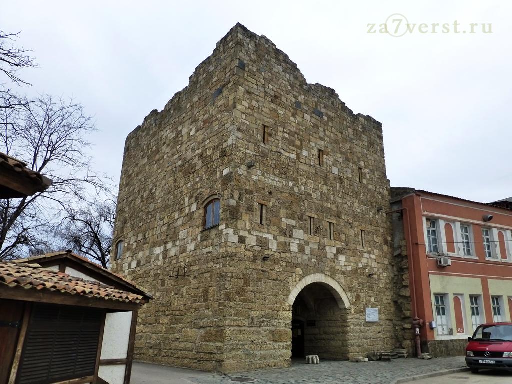 Евпатория, крепостные ворота Гезлева, ворота Дровяного базара (Одун-базар-капусу)