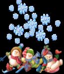 Снеговики-алфавит